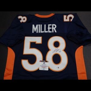 Autographed Von Miller Jersey with COA